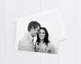 Printable Save the Date | Digital Download Wedding Save the Date