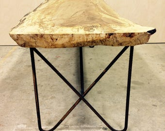 Spalted Turkish Oak - Rustic Industrial Coffee Table
