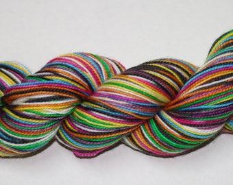 Sugar Skulls Self Striping Sock Yarn