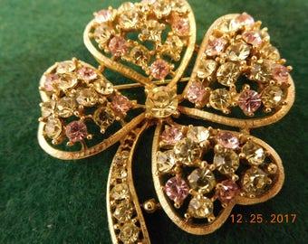 Vintage Lisner Heart Brooch