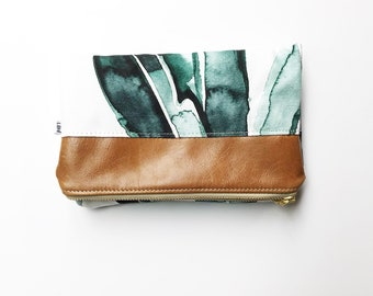 Clutch Wallet, Foldover Clutch Wallet, Leather Wallet, Foldover Clutch, Fold Over Clutch, Clutch, Clutch Purse, Womens Wallet, Clutch Bag