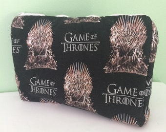 Homemade Game of Thrones Makeup Bag and Accessory Case