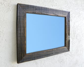 Reclaimed Wood Large Mirror. Rustic. Large Wall Mirror. Bathroom Mirror. Rustic Mirror. Wall Mirror. Farmhouse Mirror. Ready to Ship