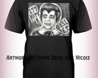 "Portrait T-Shirt : ""Vroom! Vroom!"" - Buch Patrick as Eddie Munster in The Munsters"