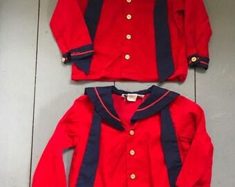 Vintage Sailor Toddler Shirt