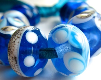 Handmade Lampwork Beads, Khaosbeads, SRA