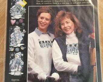 80606 Frosty Pals Shapes Iron-On Fashion Art C02