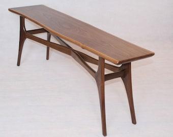 Solid Walnut Coffee Table