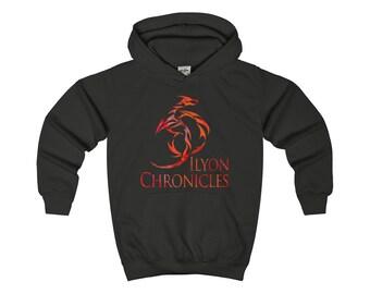 Ilyon Chronicles Red Dragon Kids Hoodie