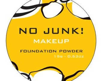 7 Shades Available Plant Only Vegan Foundation Powder - 100% NO JUNK! Makeup