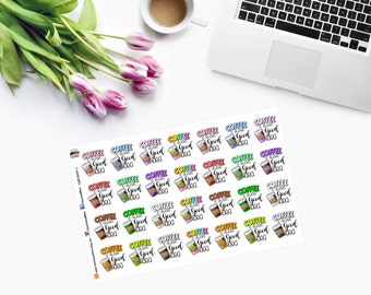 Coffee Is ALWAYS a GOOD IDEA - Planner Stickers - CAM00119-1