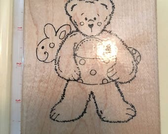CTMH Beary Sunny Summer Rubber Stamp
