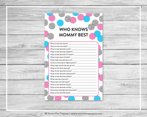 photograph relating to Printable Gender Reveal Games named Printable Gender Describe Playing cards