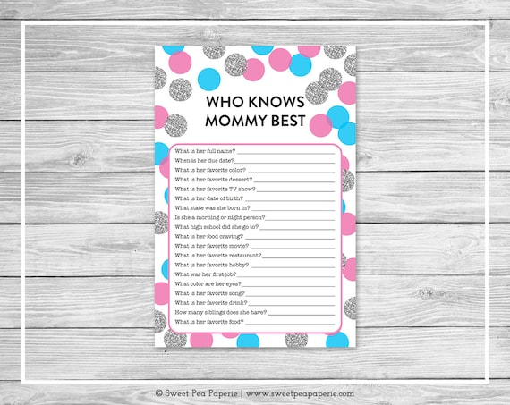 photo regarding Gender Reveal Games Printable titled Printable Gender Clarify Playing cards