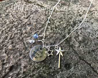 The Little Mermaid Quote Necklace (Part of Your World)