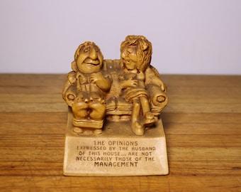 Vintage 1970 Paula Sculptural Gift Figurine