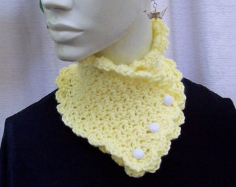 Cowl, Neck Warmer, Scarf, Buttoned Cowl, Buttoned Scarf, Buttoned Neck warmer, Soft Scarf, Soft Cowl, Soft Neck warmer, Gift for Her 20101
