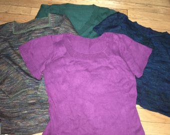 Cotton Custom Handknit Sweater