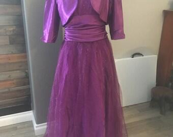 Pink, Purple and Plum Ballgown Bridesmaid Cinderella