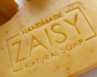 Orange Blossom Soap, Naturally Colored, Annatto Seed Infusion, Handmade Natural Soap, Skincare, Moisturizing Soaps, Luxury