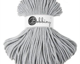 Bobbiny Rope – Light Grey (100m)