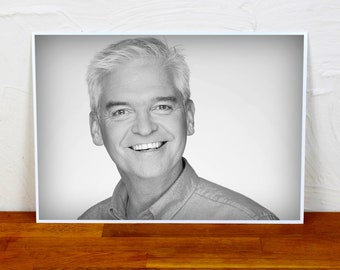 Phillip Schofield Poster Print - 2 sizes - A4 and A3