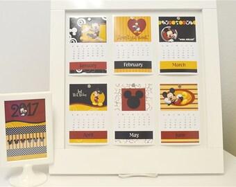 2018 Calendar Mickey 4x6 Refill