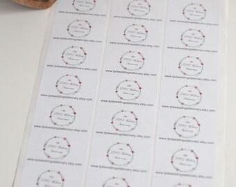 Logo stickers, rectangular labels, sticky labels, printed labels, sticky product labels, printed labels, custom stickers, address stickers
