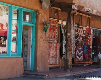 Downtown Santa Fe, Southwest, 8 x 10