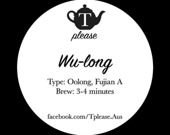 Wu-long loose leaf tea