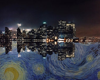 A Starry Night In NYC