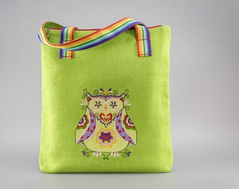 SALE - Owl bag.