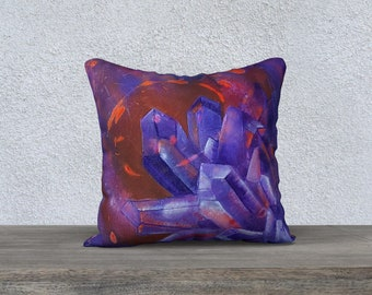 """Amethyst Pillowcover 18"""""""