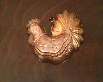 Hangable Copper Coated Chicken