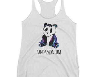 Pandamonium tank top