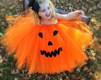 Pretty little pumpkin tutu
