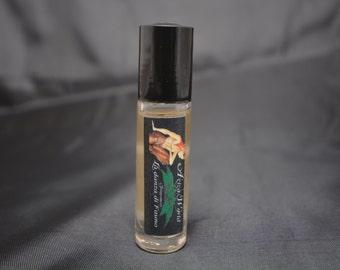 La danza di Fauno Male Roll on Oil, With Cedar, Oriental, Iris, Black Pepper, Clove, Mandarin, Bergamot, handmade men's fragrance, clove