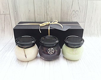 Spiritual gift, mood boosting gift, aromatherapy candle, cleansing candle, witchcraft candle,  spiritual candle, energy cleansing candle
