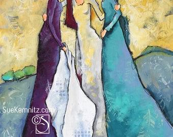 the three • artful ladies 95