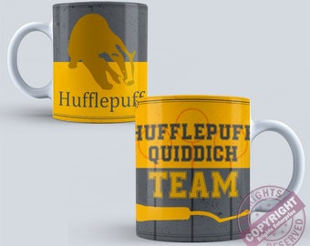Harry Potter Hufflepuff Quiddich Team  Ceramic 11oz Coffee Tea Mug