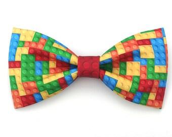 Colorful Lego Bowtie Bow Tie