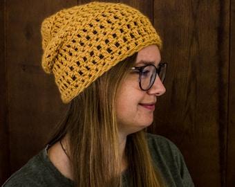 Slouchy Beanie Hats for Women - Cute Autumn Fashion - Fall Knitwear - Fall Slouchy Hat - Oversized Hat - Womens Hat - Slouchy Hat - Beanie