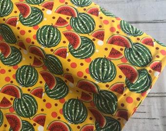 Watermelon Cotton Jersey fabric