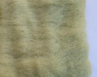 Merino Wool Roving - Pistachio - 1 oz