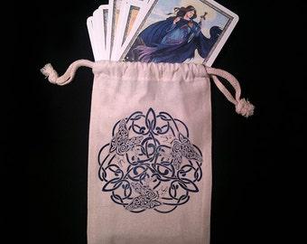 Celtic Raven Tarot Bag -  Pagan Wiccan  - Brigid Ashwood