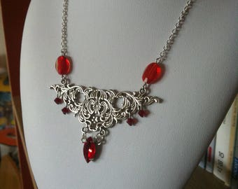 """Necklace """"Rose is Red"""""""