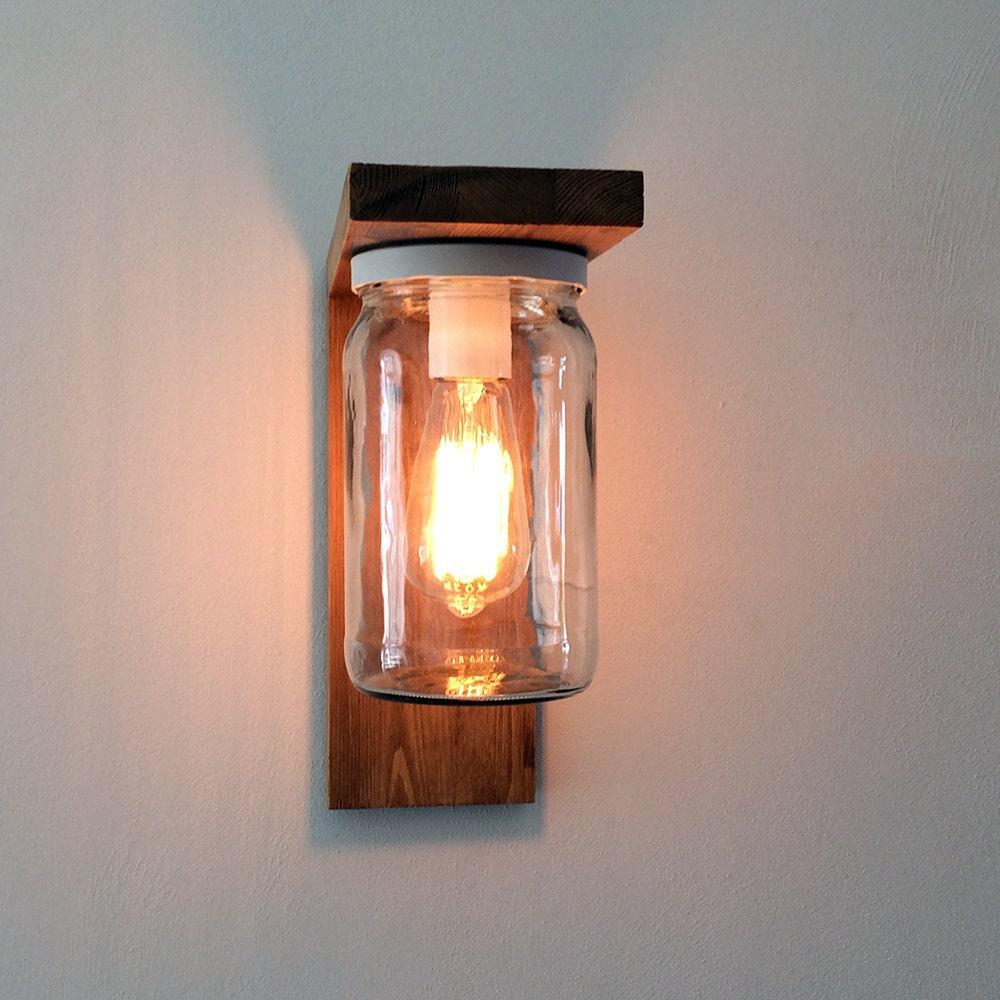 Lanterna lampada da parete applique lampada da giardino in for Applique da parete legno
