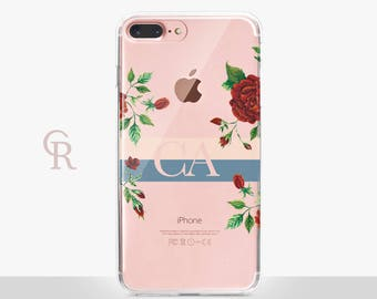 Personalised iPhone 6 Clear Phone Case For iPhone 8 iPhone 8 Plus - iPhone X - iPhone 7 Plus - iPhone 6 - iPhone 6S - iPhone SE - Samsung S8