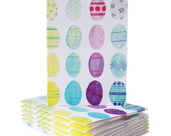 Easter Egg Pattern Card | Holiday Greeting Card | Easter Greeting Card