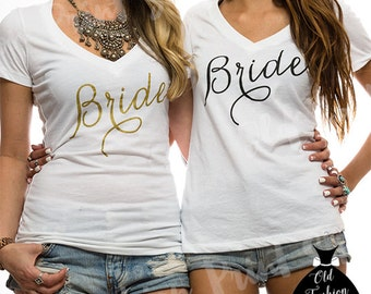 Bride Vneck. Bride V Neck.